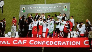 Photo of الرجاء البيضاوي ينتزع كأس الكنفدرالية الافريقية من فيتا كلوب الكونغولي بكل قتالية