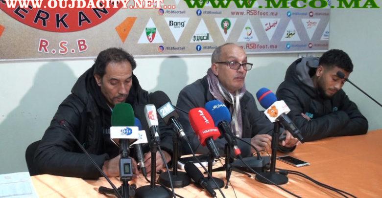 Photo of الندوة الصحفية لمدربي النهضة البركانية واتحاد طنجة ببركان