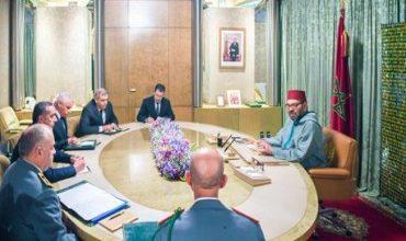 Photo of جلالة الملك محمد السادس يترأس جلسة عمل بالدار البيضاء خُصصت لتتبع تدبير انتشار فيروس كورونا