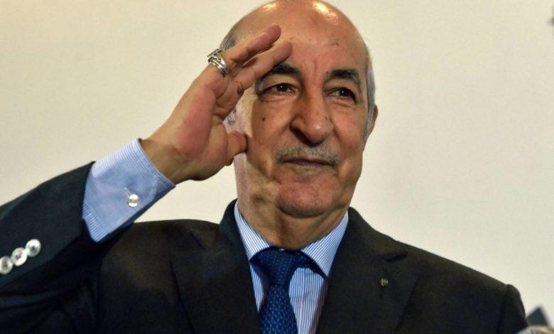 """Photo of خرجة غريبة للرئيس تبون الجزائري: """"أياد إجرامية قامت بإخراج جثث من المستشفيات وعرضها في الشارع"""""""