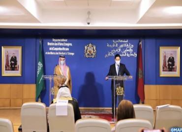 Photo of وزير الخارجية السعودي في زيارة عمل للمغرب